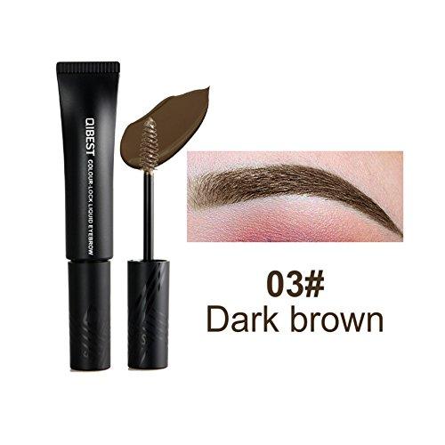 Allbesta Wasserfest Augenbrauen Gel Augenbrauenfarbe Creme Semi Permanent Langanhaltende Eyebrow...