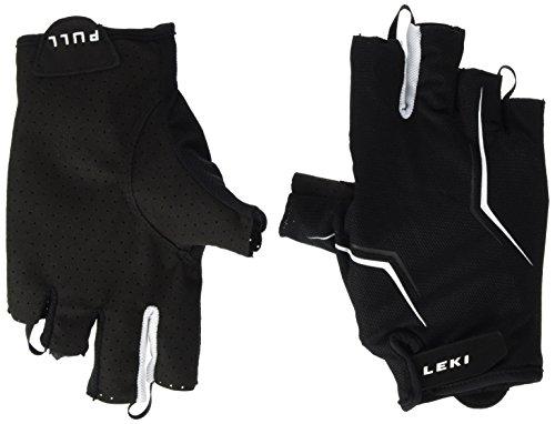 LEKI Herren Multi Lite Short Handschuhe, Black-White, 9