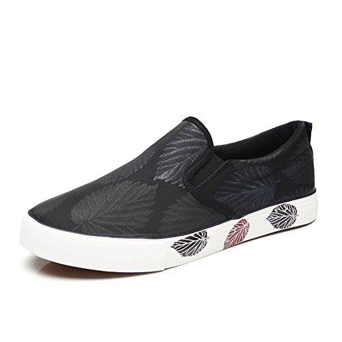 Chaussures de toile Hommes Chaussures de toile Hommes Chaussures de sport en plein air Exercice Sneakers Travail Mocassins plats ( Color : Yellow-40 ) Gray-39