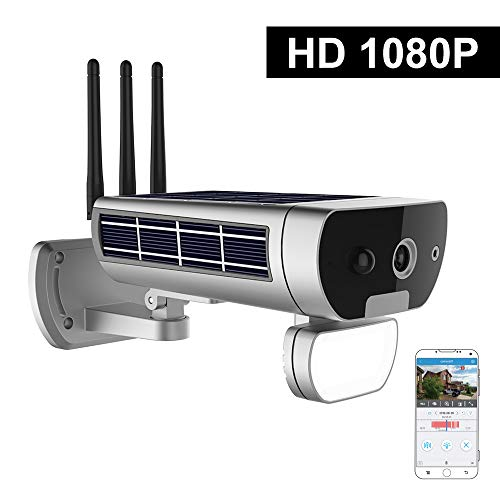 Extaum wifi fotocamera solare esterna solare ir-cut night vision rilevazione movimento pir impermeabile thunderproof telecamera di sicurezza esterna slot per schede tf sorveglianza di sicurezza
