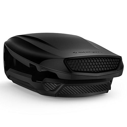 Spigen Kuel [S40] ver.2 (Turbulence), Handy Halterung Auto Horizontal Dual-Winkel Aerodynamisches Design KFZ Autohalterung fürs Armaturenbrett - Kompatibel mit iPhone, Galaxy, Huawei, usw.