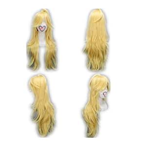 COSPLAZA Cosplay Costume Wigs Perruque Panty & Stocking with Garterbelt Panty longueue Blonde Party Cheveux
