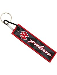 Techpro Premium Quality Cloth Locking Keychain With Doublesided Pulsar Design