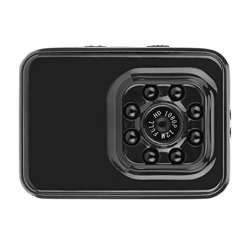 xintiandi Sportkamera – Full HD 1080P 12 MP Mini DV Nachtsicht Action Kamera mit 8 Infrarotlichtern