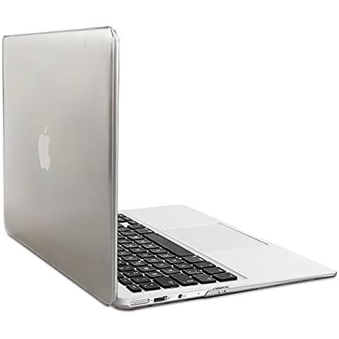 Elegante y ligera funda 2-Part Crystal Case para Apple MacBook Air 11'' en Transparente de kwmobile