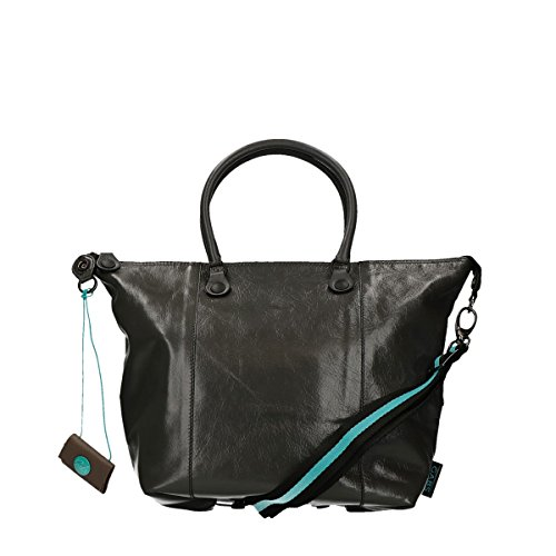 GABS donna borsa shopping G3.B-I17 CFCF PIATTA TRASF.CALF DAV/DT grau, grau