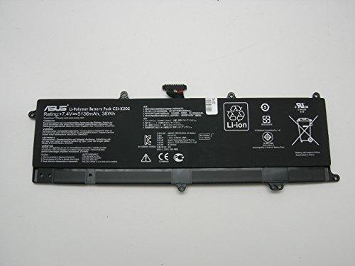 Batterie Authentique Originale ASUS, modele C21-X202 pour Asus Vivobook F201E / F202E / Q200E / R200E / R201E / S200E / X201E / X202E, Lithium-Polymère Batterie