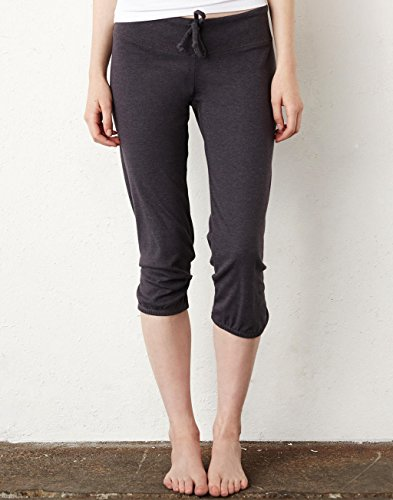 Women´s Capri Scrunch Pant - Farbe: Dark Grey Heather - Größe: L