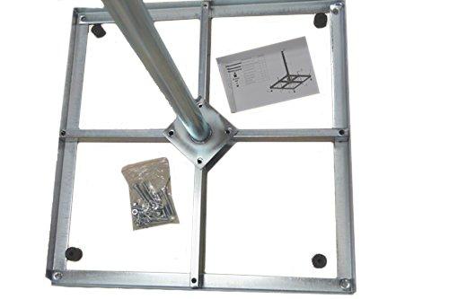 HD-LINE Sat Antennen zerlegbar 100cm BalkonStänder Flachdachständer Ständer stabil 4X50cm