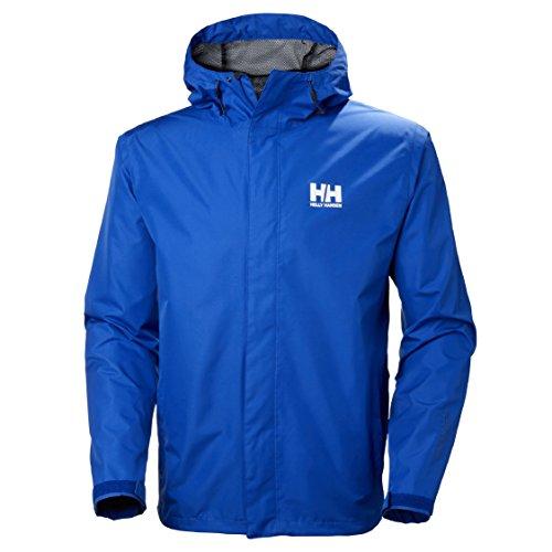 Helly Hansen Seven J–Chaqueta para Hombre, Todo el año, Hombre, Color Olympian Blue, tamaño Large