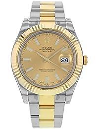 New Rolex Datejust setzt II Edelstahl Stahl und 18K Gelb Gold Mens Watch 116333Chio