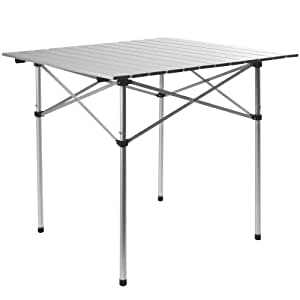 Alu-Klapptisch Campingtisch Rolltisch 70x70x70cm klappbar