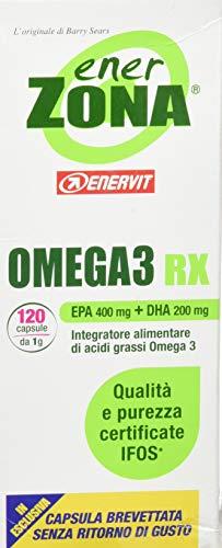 enerzona omega 3 rx integratore acidi grassi - 120 compresse