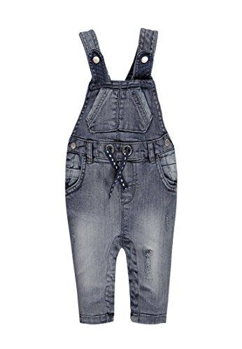 Kanz Jungen Latzhose Latzhose Jeans, Gr. 56, Blau (blue denim 0013)