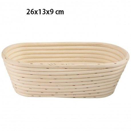 GÄRKORB Gärkörbchen Brotteig Gärkörbe Korb Brotform Peddigrohr oval 1,0 kg C188 Proofing Basket