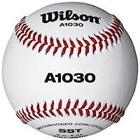 Wilson Team Sport - A1030 Championship Series - Balle de baseball - Blanc