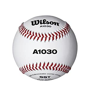 Wilson Baseball Official League, Weiß, 9 Zoll, WTA1030B