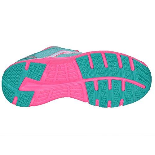 Pro Touch Run-Schuh Oz Pro V Jr - d.blau/grün lime Green Aqua/Pink