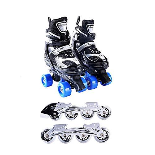 HYM Inline Skates Quad Skates Adjustable with Roller for sale  Delivered anywhere in UK