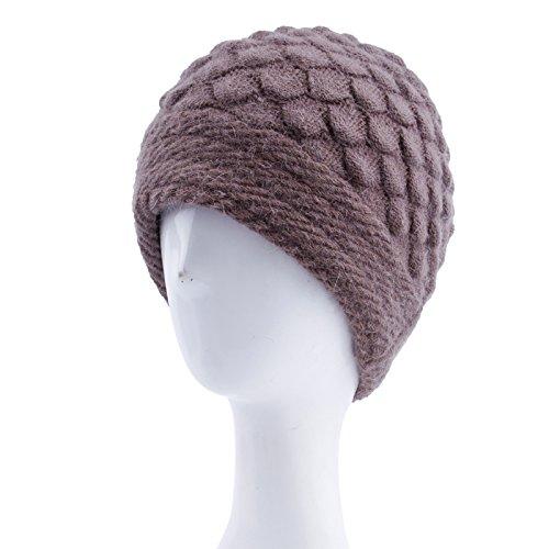 qwer la caduta degli anziani in inverno cappello invernale femmina