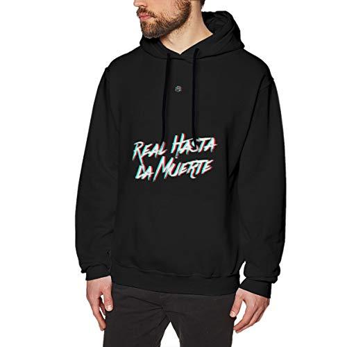 Lurqer Sudadera De Hombres Anuel AA-Real hasta La