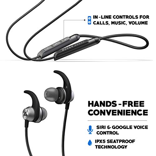 c4ddd60e04c567 66% OFF on Boult Audio ProBass SpireX Neckband in-Ear Wireless Bluetooth  Earphones with