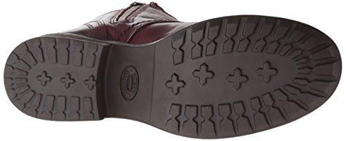 Steve Madden Troopa 2.0 Combattimento di avvio Wine Leather