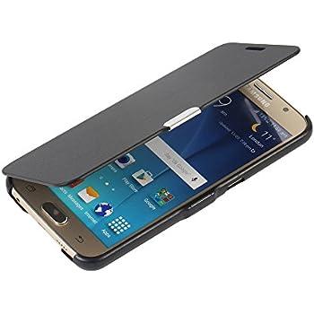 Samsung Clear View Etui pour Samsung Galaxy S6 Or: Amazon.fr: High-tech