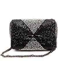 Nitya Biswas Women's Sling Bag (Black)