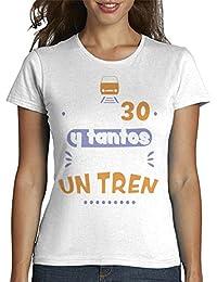 latostadora - Camiseta A Mis 30 y Tantos Estoy para Mujer