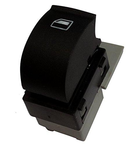 Aerzetix: Interrupteur bouton lève-vitres compatible 4B0959855A pour auto voiture C18857