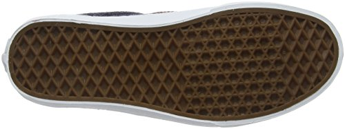 Vans Era, Baskets Basses Mixte Adulte Marron (Wool & Leather parisian night/tortoise shell)