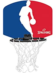 Spalding 77-602Z 3001579013017 - Mini tabellone basket logo NBA, colore arancione