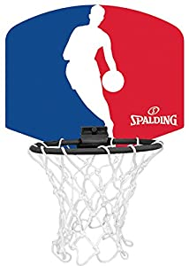 Spalding Backboard Miniboard NBA Logoman 77-602Z, Orange, 3001579013017