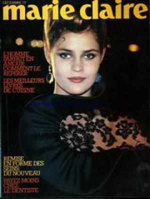 MARIE CLAIRE [No 340] du 01/12/1980 - L'HOMME PARFAIT EN AMOUR - LES MEILLEURS LIVRES DE CUISINE - SEINS - DU NOUVEAU - LE DENTISTE.