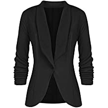 huge discount f6ab1 a80a2 Amazon.it: giacca tailleur nera
