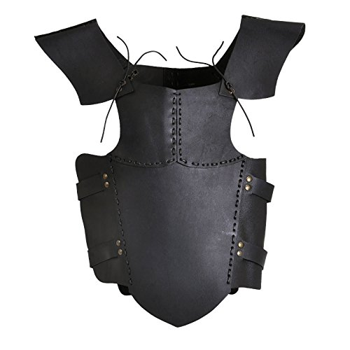 Epic Cosplay Kostüm - Elbenwald Epic Armoury 100501 RFB Armour Leather - Black - S Torso, Unisex Erwachsene