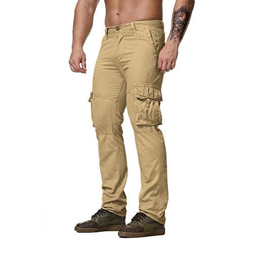 Poachers Men's Pants,Die ReguläRe Passform Der Mode MäNner Keucht Fracht Hosen BeiläUfige HosenArbeitshosen