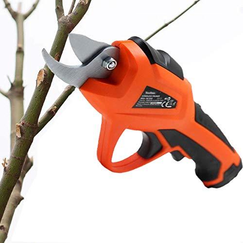 ZLing Drahtlose elektrische Gartenschere 7.2V Professioneller Trimmer für den Garten, um Verletzungen zu vermeiden