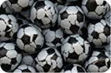Milk Chocolate Footballs, Black/White, 500g Bag (Pack of 105)