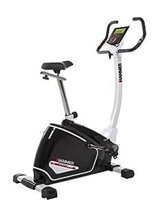 Hammer Cardio XTR Vélo d'appartement ergomètre Blanc/Noir