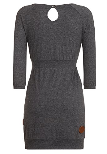 Naketano Female Dress Schnuckis Muckis III Grey