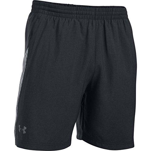 Under Armour Herren Running - Kurze Hosen, Blk, LG (Jordan Woven Shorts)