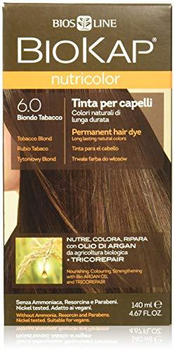 tinta per capelli nutricolor n. 6 colore biondo tabacco 140 ml