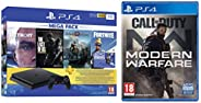 PS4 1TB Slim console (Free Games : Detroit /The Last of Us/God of War/Fortnight Voucher /PSN 3 Month Inside th