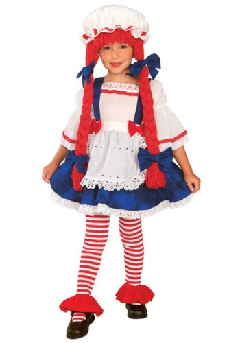 Kost-me f-r alle Gelegenheiten Ru885624Sm Rag Doll Girl Child Klein