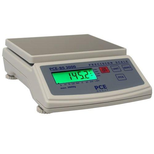 PCE Instruments Tischwaage PCE-BS 6000, 6.000 g / 1 g, Waage, Waagen, Leicht, Batterie, Netz