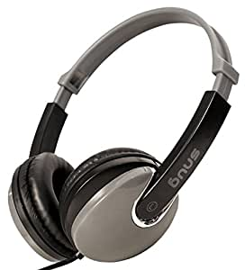 Snug Plug n Play Kids Headphones for Children (Black)