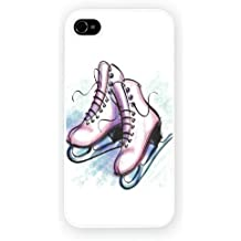 Ice Skates Skating Art Design, iPhone 6 / 6S glossy cell phone case / skin
