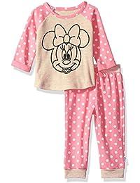Disney Baby Girls Minnie Mouse 2 Piece Jogger Set